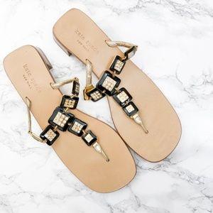 Kate Spade Jeweled Heeled Sandals